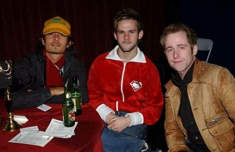 Orlando Bloom, Dominic Monaghan, and Billy Boyd