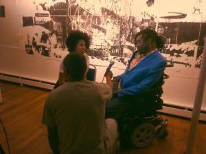 Interview with Yinka Shonibare and Nathalie Mba Bikoro
