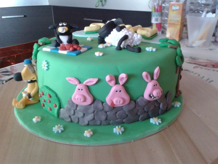 Shaun the Sheep Cake 2