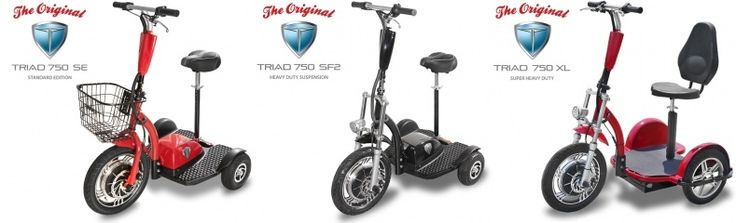 Three Wheel Electric Scooters For Adults