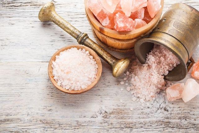 Benefícios do Sal Rosa do Himalaia