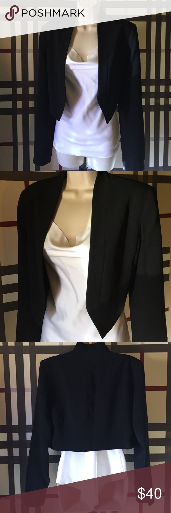 I own several crop blazers from WHBM