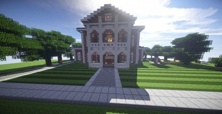 Georgian Estate 2 | Minecraft House Design