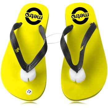 Nothing will set your organization apart from your competitors like Eva Flip Flop With Pvc Belt. With features like soft, pvc straps, 3 layer sole, optional size S M L XL and functionality of wearing in feet. More Info: http://avonpromo.com/flip-flop-with-belt-p-9860.html
