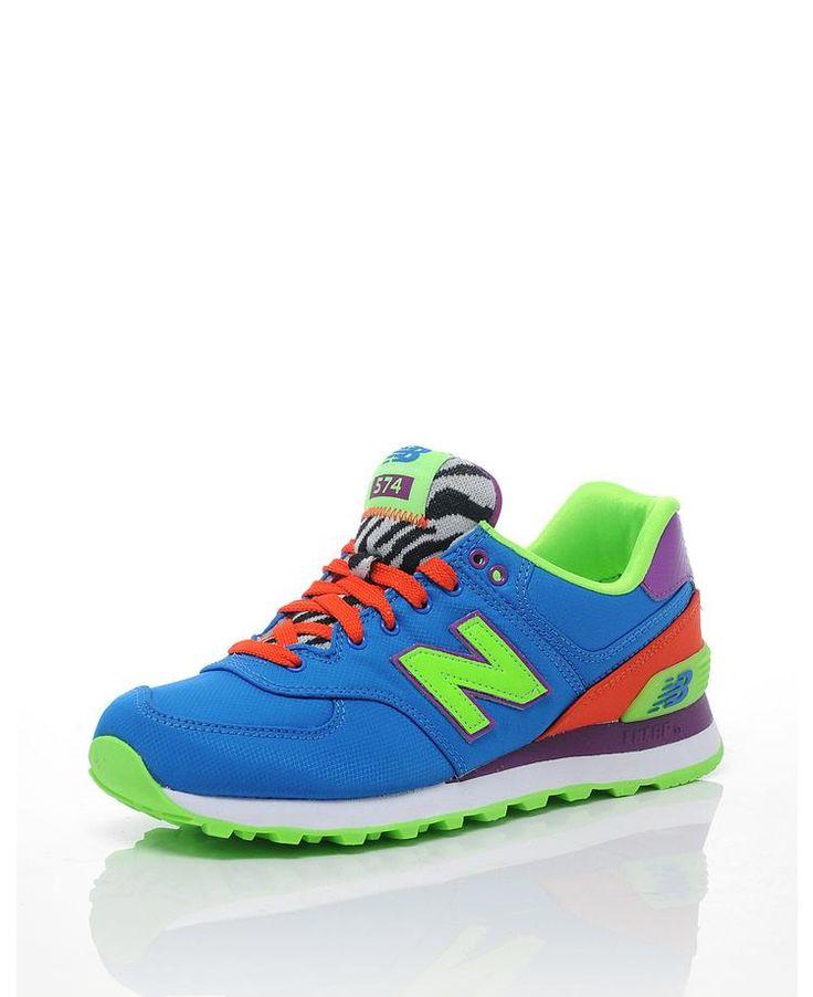 New Balance Zapatillas para deportes de exterior de Piel para mujer White/ExuberantPink 8rfpKtjaR8