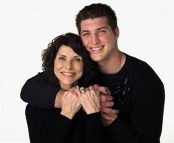 Tim and his mom Pam.