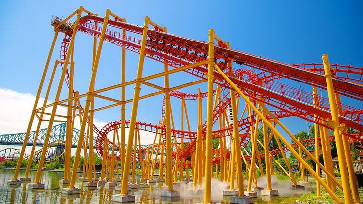Parc d'attractions La Ronde: Les activités à Montréal - Attractions pas chers à Montréal