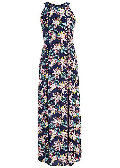 6dde0a42d3b Ladies navy blue floral high neck maxi dress Look Again size 10 BNWT RRP 60   fashion  clothing  shoes  accessories  womensclothing  dresses  ad (ebay  link)