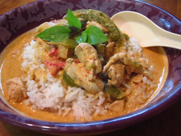 Whole Food Thai Curry | OAMC from Once A Month Meals