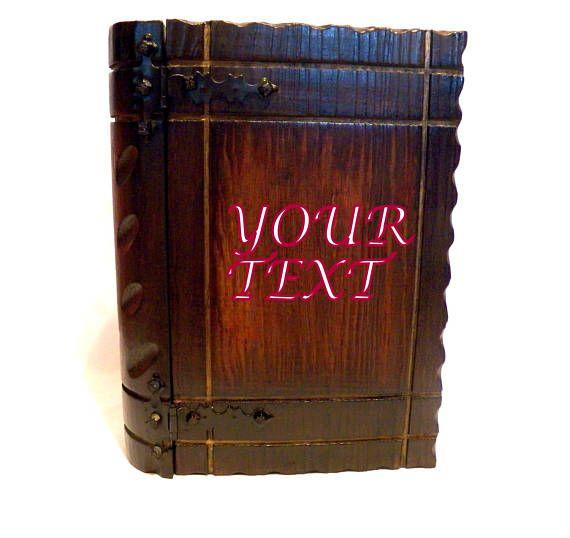 Caja Libro Caja de Madera Encargo Caja de madera para