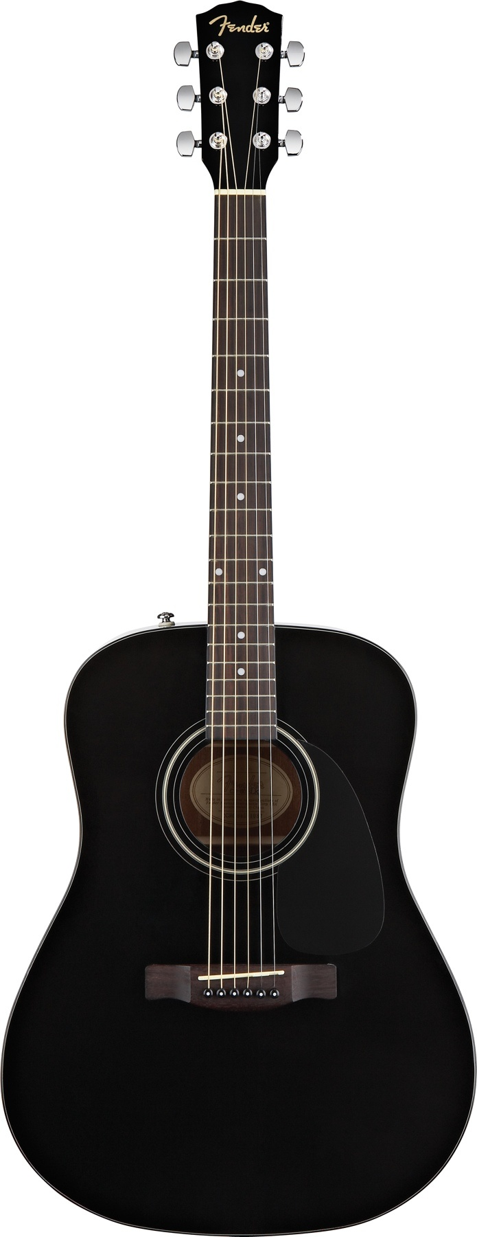 Black Fender CD-60 - The first guitar I ever bought!