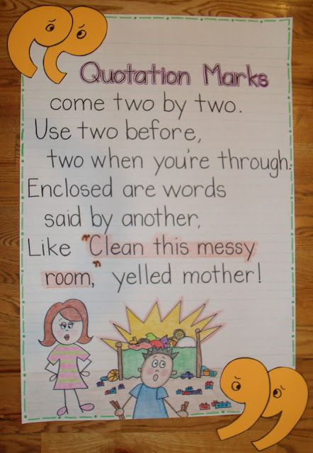 2nd Grade Smarty-Arties taught by the Groovy Grandma!: quotation anchor chart