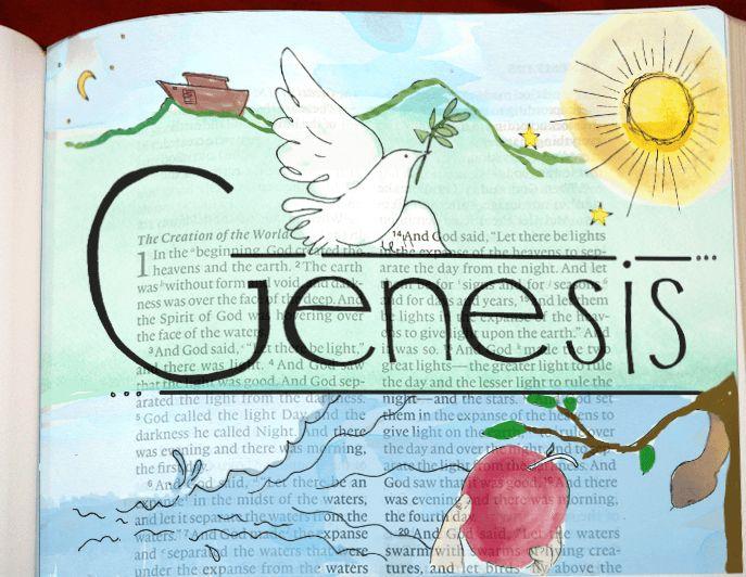 bible journaling digitally genesis