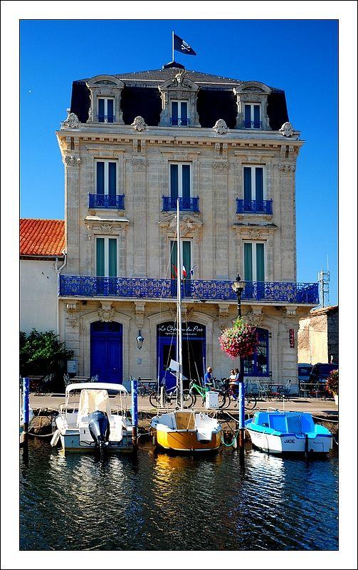 Château du port de Marseillan, Languedoc-Roussillon_ South France www.MadamPaloozaEmporium.com www.facebook.com/MadamPalooza