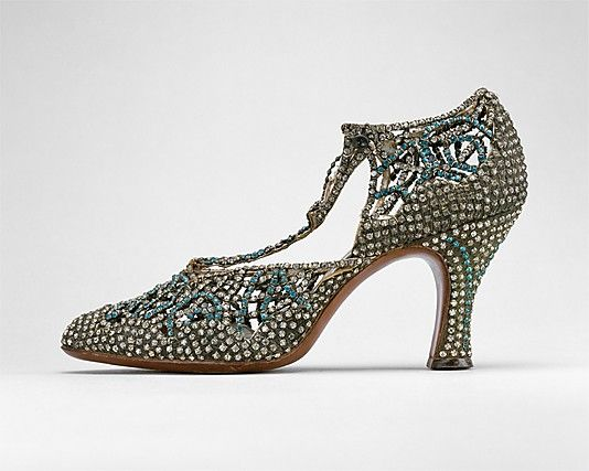 Talking about rhinestones...how about this? Rhinestones all over the place...sorry shoes! American 1933, by Seymour Troy.