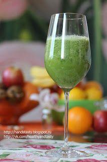 Healthy & Tasty - Вегетарианские рецепты: Коктейль для стройности из зеленого яблока и сельдерея