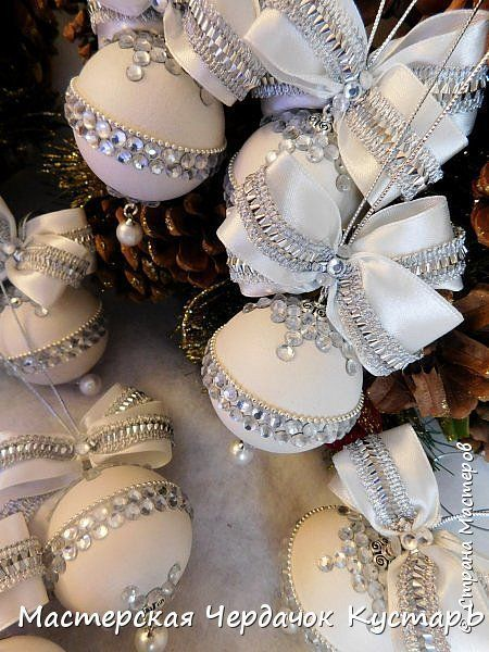Новогодние шары. МК (по просьбам)   Страна Мастеров