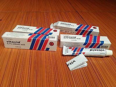 1 PCS VITACID 0.1% CREAM RETINOIC ACID For Exterminator ACNE