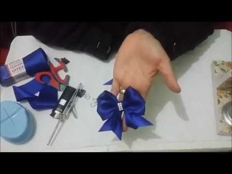 Como Fazer Laço Glamour - YouTube