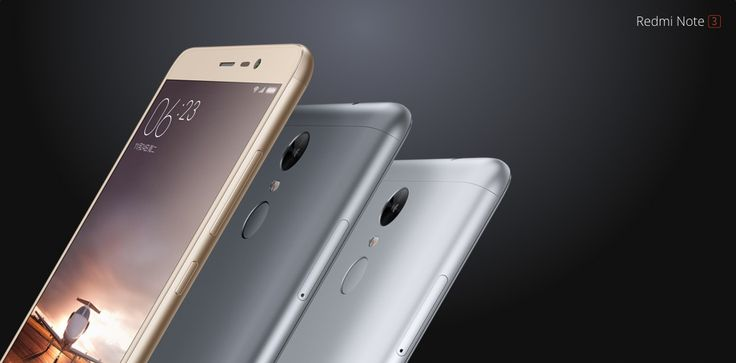 #XIAOMI #REDMI Note 3 #video 16GB 4G Phablet  -  GRAY