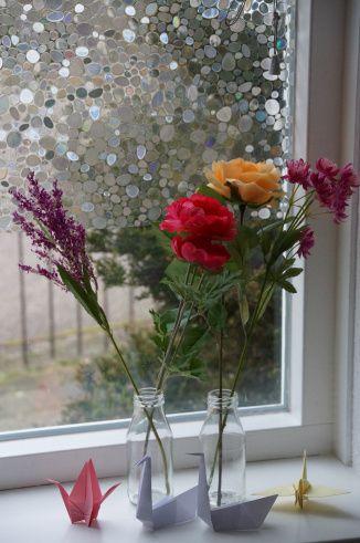 vouwen, origami zwaan en bloemen #watdoetvanessanu