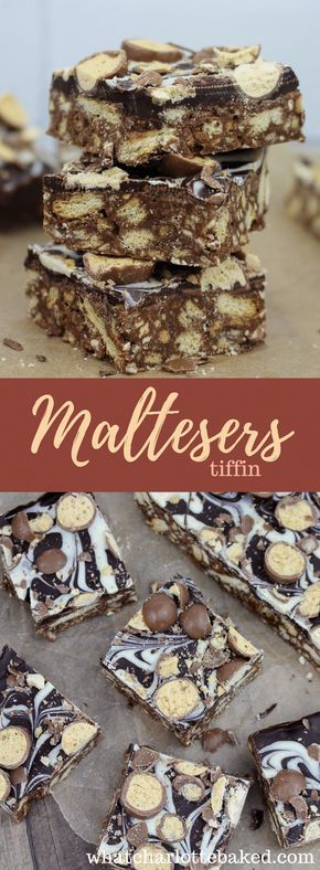 Maltesers Tiffin recipe | What Charlotte Baked