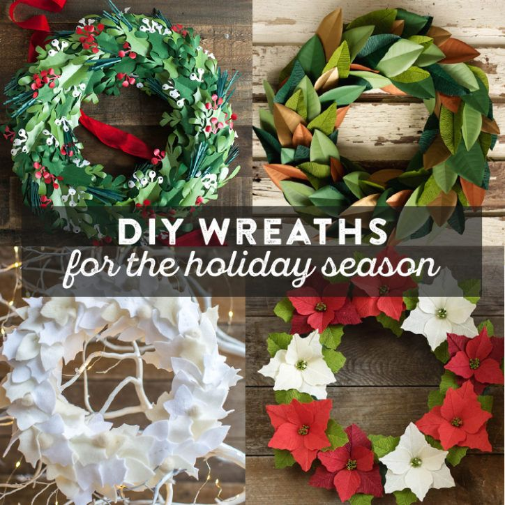 DIY Wreaths for the Holiday Season