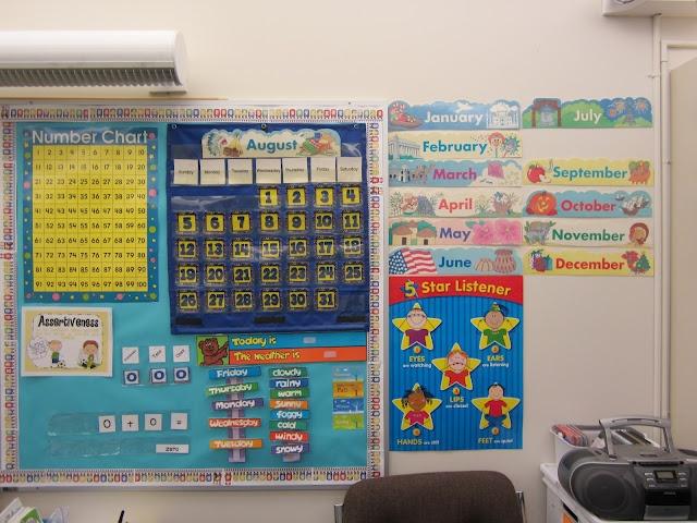 Kindergarten Calendar Board : Totally terrific teaching bulletin boards circle time