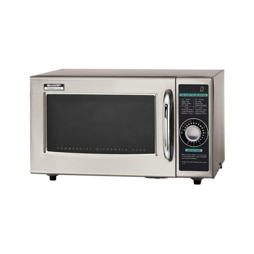 Sharp+Electronics+R-21LCF+Microwave+Oven,+1000+watts,+stainless+steel+door+timer+(1)