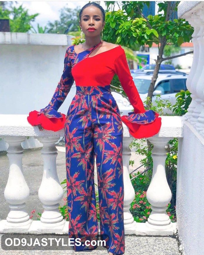 75e2c84564c Latest Ankara Jumpsuit Styles 2018