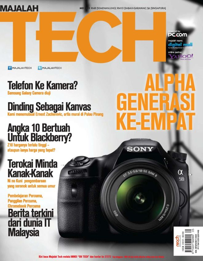 Majalah Tech Malay Magazine - Buy, Subscribe, Download and Read Majalah Tech on your iPad, iPhone, iPod Touch, Android and on the web only through Magzter
