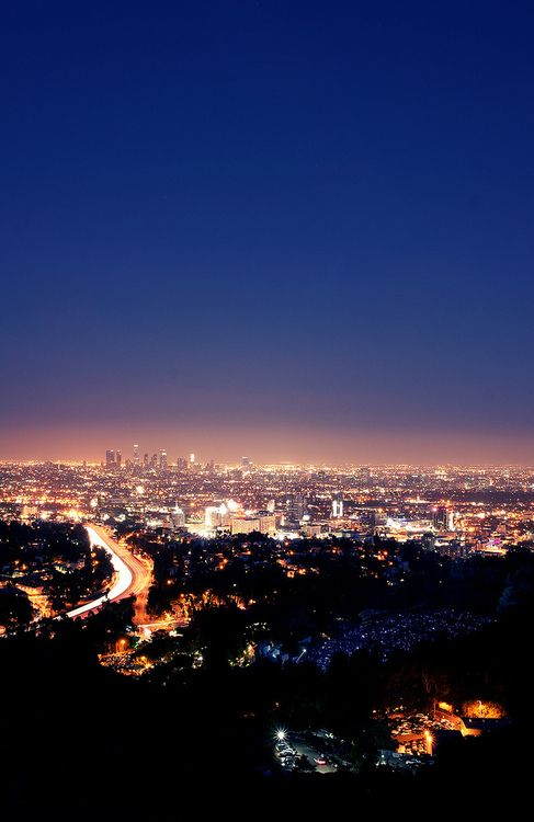 Definitely missing the Los Angeles city lights! Will be back soon enough though :)
