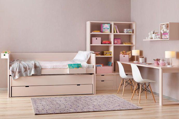 habitaciones juveniles cama compacta