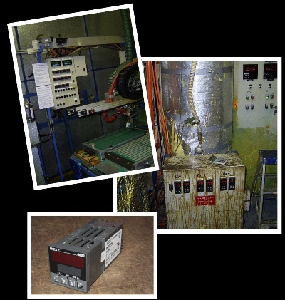 West | Temperature Controllers for the Chemical industry  | Temperature control of polyurethane moulding.