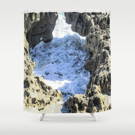 #oceanlife Customize your bathroom decor with unique shower curtains designed by artists…