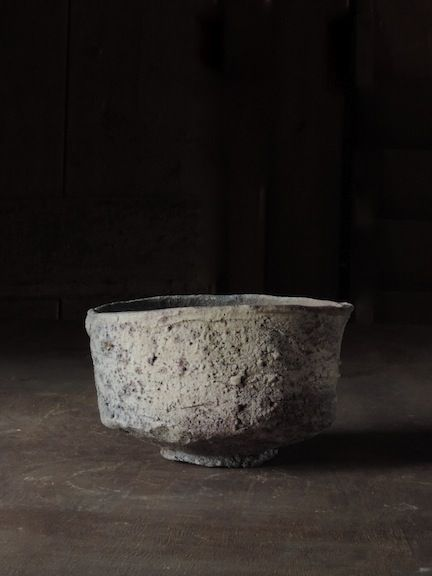 Ember Buried Tea Bowl, Mitch Iburg, Native Virginia Clay, Anagama Fired