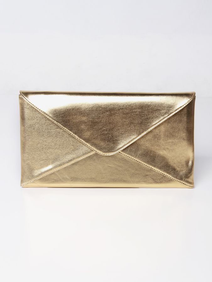 Cantalope clutch bag #clutchbag #taspesta #handbag #fauxleather #kulit #envelope #amplop #fashionable #simple #elegant #stylish #colors #gold  Kindly visit our website : www.bagquire.com