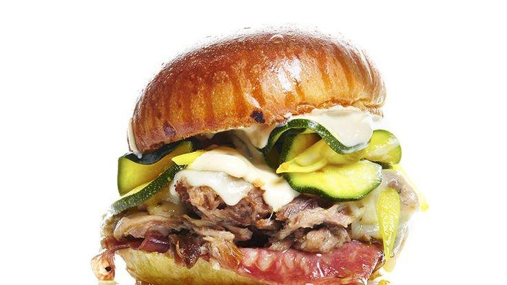 Cuban Sandwich with Zucchini Pickles Recipe | Bon Appetit