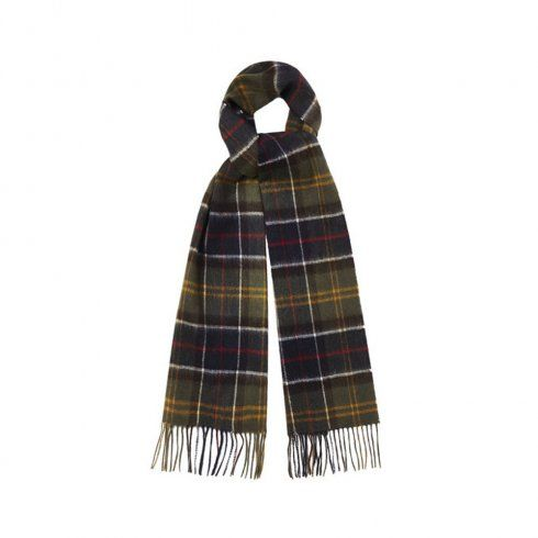 Barbour Accessories Barbour Classic Green Tartan Scarf