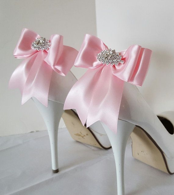 Hey, I found this really awesome Etsy listing at https://www.etsy.com/listing/480372471/pink-wedding-shoe-clipsbridal-shoe-clips