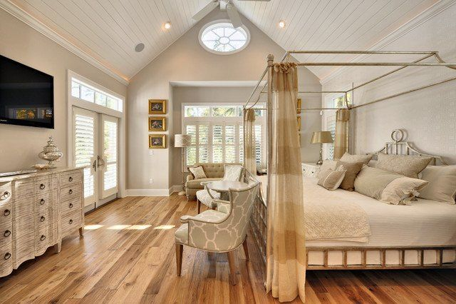 20 Amazing Cathedral Ceiling Bedroom Design Ideas (WITH PICTURES)