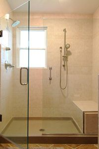 love this shower concept two shower heads so dh and i can shower together