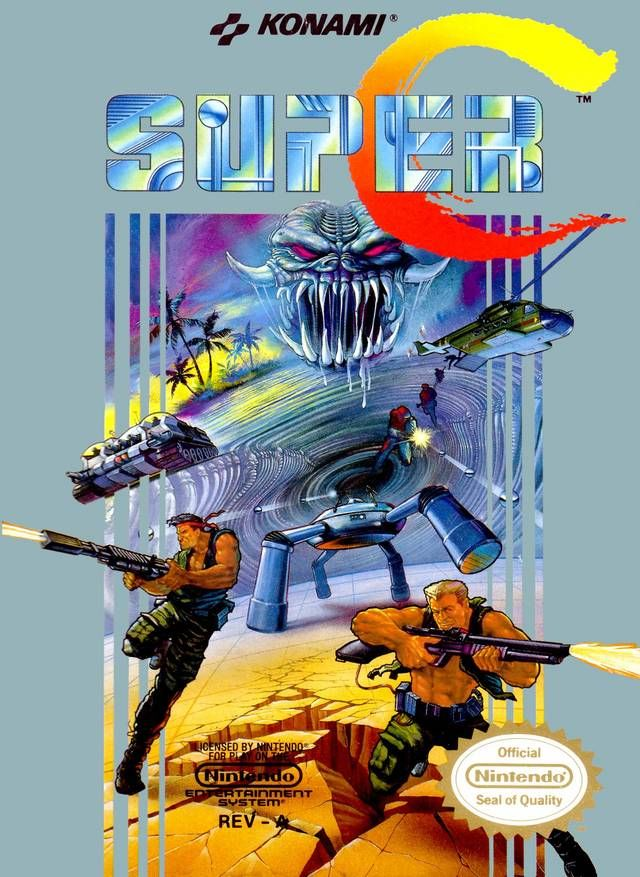 If you had Nintendo then you had to have Super Contra....Me & my dad use to kick some butt...the good old days!!!!!