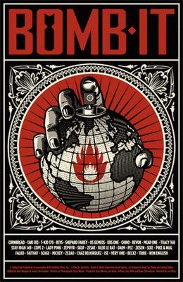 Shepard Fairey - Street Art - Poster
