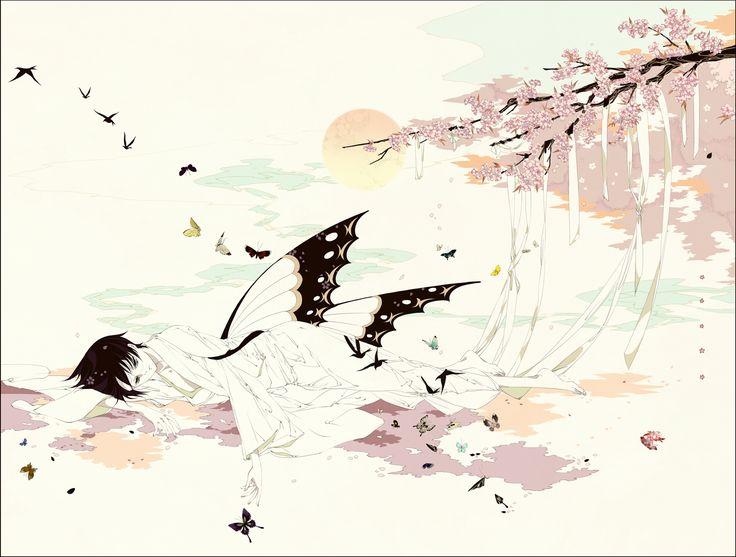 Molatoliamu, xxxHOLiC, Watanuki Kimihiro, Butterfly Wings
