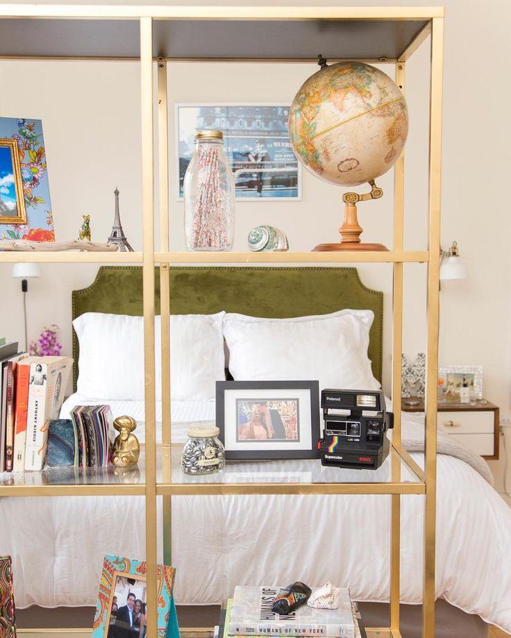 House & Home Decor: Studio / Bachelor Apartment. Bachelorette PadBookcase  ...