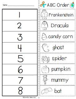 Free Halloween ABC- The ABC Of Good Handwriting Practice- visit http://www.downhillpublishing.com/