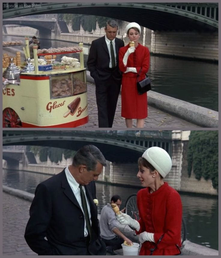 Charade: Cary Grant and Audrey Hepburn