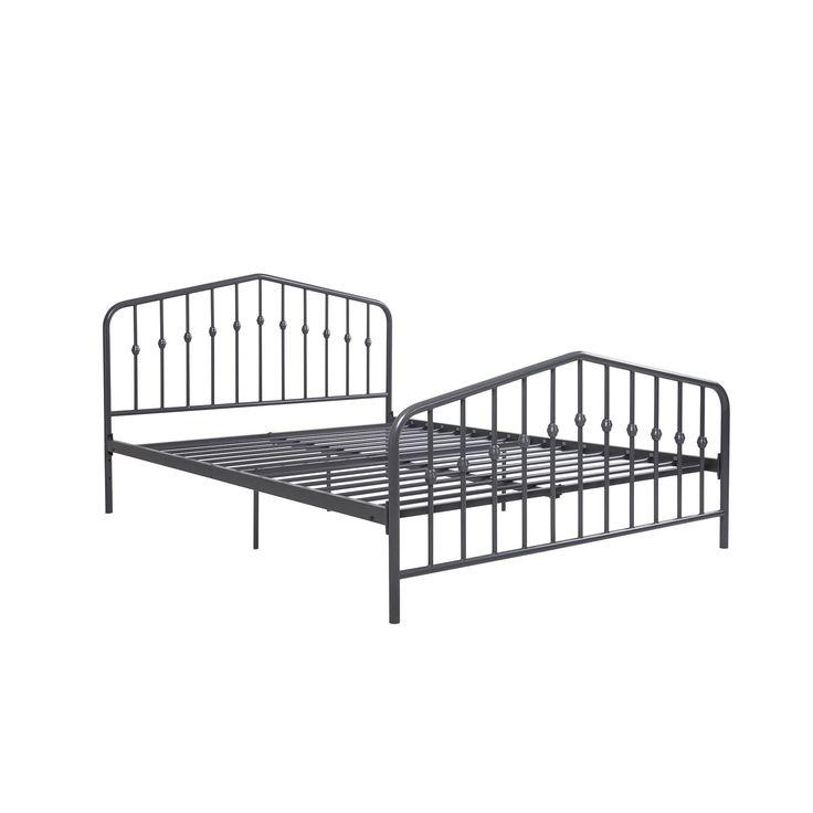 Bushwick Metal Queen Platform Bed