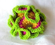 TimaryArt: Non-Euclidean Geometry meets Crochet ~ free pattern ᛡ